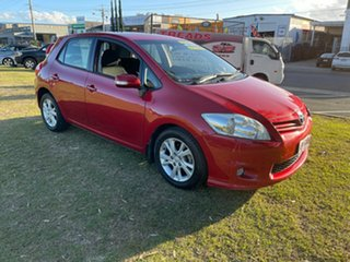 2012 Toyota Corolla ZRE152R MY11 Ascent Sport Maroon 4 Speed Automatic Hatchback.