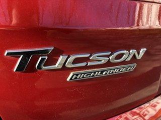 2017 Hyundai Tucson TLE2 MY18 Highlander D-CT AWD Red 7 Speed Sports Automatic Dual Clutch Wagon