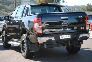 2016 Ford Ranger PX MkII XLT Double Cab Black 6 Speed Manual Utility.