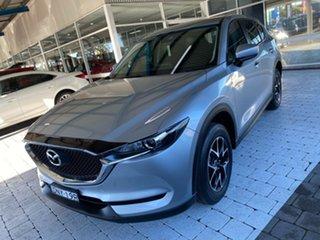 2017 Mazda CX-5 Maxx Silver Sports Automatic Wagon.