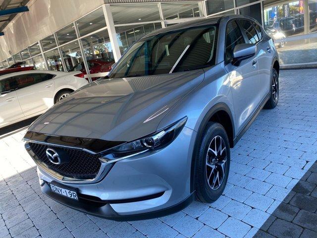 Used Mazda CX-5 Maxx Taree, 2017 Mazda CX-5 Maxx Silver Sports Automatic Wagon