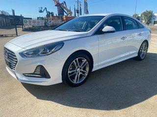 2019 Hyundai Sonata LF4 MY19 Active White/150419 6 Speed Sports Automatic Sedan