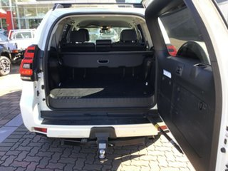 2020 Toyota Landcruiser Prado GDJ150R GXL White 6 Speed Sports Automatic SUV