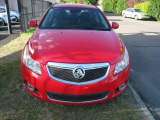 2012 Holden Cruze JH MY12 CDX Red 6 Speed Automatic Sedan.