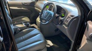 2008 Kia Carnival VQ MY07 EX Luxury Black 4 Speed Sports Automatic Wagon