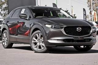 2021 Mazda CX-30 DM4WLA G25 SKYACTIV-Drive i-ACTIV AWD Touring Grey 6 Speed Sports Automatic Wagon.