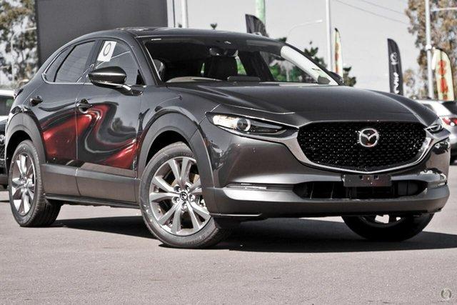 New Mazda CX-30 DM4WLA G25 SKYACTIV-Drive i-ACTIV AWD Touring Waitara, 2021 Mazda CX-30 DM4WLA G25 SKYACTIV-Drive i-ACTIV AWD Touring Grey 6 Speed Sports Automatic Wagon