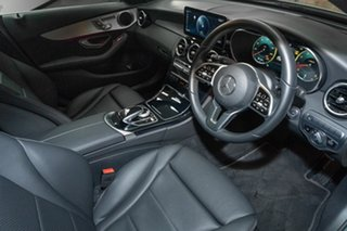 2020 Mercedes-Benz C-Class W205 801MY C200 9G-Tronic Selenite Grey 9 Speed Sports Automatic Sedan.