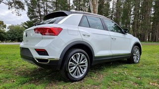 2021 Volkswagen T-ROC A1 MY21 110TSI Style Pure White/Black Roof 8 Speed Sports Automatic Wagon