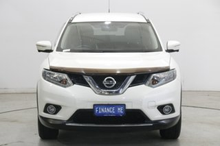 2014 Nissan X-Trail T32 ST-L X-tronic 4WD White 7 Speed Constant Variable Wagon.