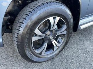 2017 Mazda BT-50 UR0YG1 XT Freestyle 4x2 Hi-Rider Blue 6 Speed Sports Automatic Cab Chassis