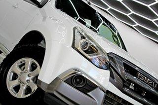 2018 Isuzu MU-X UC MY18 LS-M (4x4) White 6 Speed Auto Sequential Wagon.