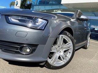 2015 Audi A4 B8 (8K) MY15 Allroad Quattro LE Monsoon Grey 7 Speed Auto Direct Shift Wagon.