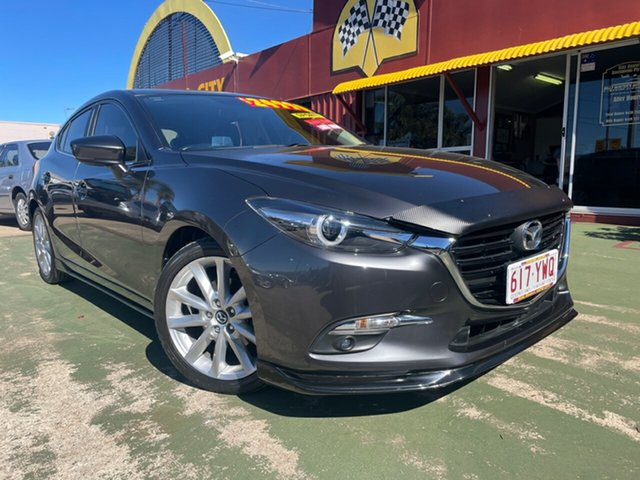 Used Mazda 3 BN5438 SP25 SKYACTIV-Drive GT Toowoomba, 2016 Mazda 3 BN5438 SP25 SKYACTIV-Drive GT 6 Speed Sports Automatic Hatchback