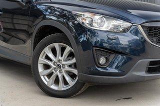 2014 Mazda CX-5 KE1031 MY14 Grand Touring SKYACTIV-Drive AWD Blue 6 Speed Sports Automatic Wagon.