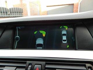 2011 BMW 5 Series F10 MY0311 520d Steptronic Black 8 Speed Sports Automatic Sedan