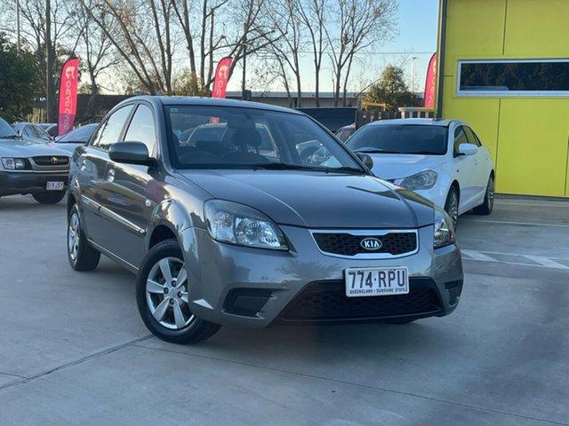 Used Kia Rio JB MY11 SI Toowoomba, 2011 Kia Rio JB MY11 SI Silver 4 Speed Automatic Sedan