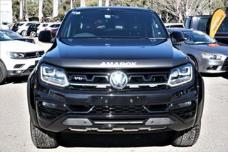2021 Volkswagen Amarok 2H MY21 TDI580 4MOTION Perm W580 Black 8 Speed Automatic Utility.