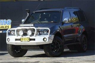 2006 Mitsubishi Pajero NP MY06 VR-X Grey 5 Speed Manual Wagon.