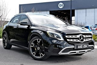 2017 Mercedes-Benz GLA-Class X156 808MY GLA250 DCT 4MATIC Black 7 Speed Sports Automatic Dual Clutch.