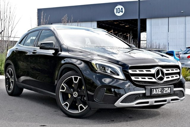 Used Mercedes-Benz GLA-Class X156 808MY GLA250 DCT 4MATIC Essendon Fields, 2017 Mercedes-Benz GLA-Class X156 808MY GLA250 DCT 4MATIC Black 7 Speed Sports Automatic Dual Clutch