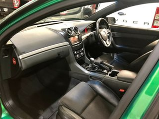 2011 Holden Ute VE II SV6 Thunder Green 6 Speed Manual Utility