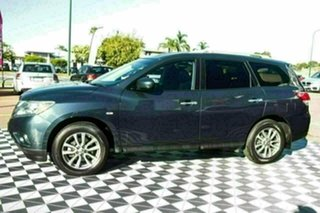 2015 Nissan Pathfinder R52 MY15 ST X-tronic 2WD Blue 1 Speed Constant Variable Wagon