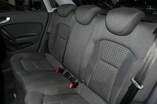 2012 Audi A1 8X MY12 Ambition Sportback S Tronic Black 7 Speed Sports Automatic Dual Clutch
