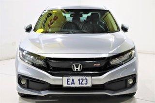 2019 Honda Civic 10th Gen MY19 RS Silver 1 Speed Constant Variable Sedan.