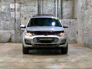 2014 Ford Territory SZ MkII TS Seq Sport Shift Silver 6 Speed Sports Automatic Wagon.