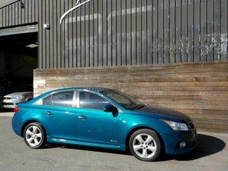2012 Holden Cruze JH Series II MY12 SRi Blue 6 Speed Sports Automatic Sedan.