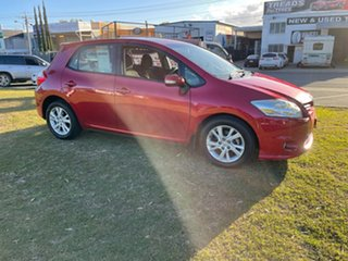2012 Toyota Corolla ZRE152R MY11 Ascent Sport Maroon 4 Speed Automatic Hatchback