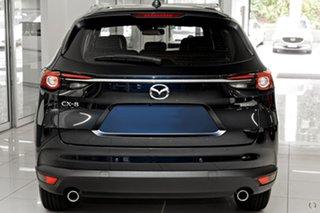 2021 Mazda CX-8 KG2WLA Touring SKYACTIV-Drive FWD Blue 6 Speed Sports Automatic Wagon.