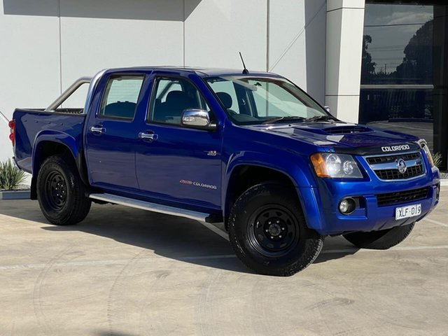 Used Holden Colorado RC MY09 LT-R Crew Cab Templestowe, 2009 Holden Colorado RC MY09 LT-R Crew Cab Blue 5 Speed Manual Utility