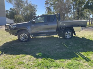 2018 Toyota Hilux GUN126R SR Extra Cab Graphite 6 Speed Manual Cab Chassis