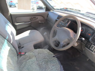 2001 Mitsubishi Triton MK GLX White 5 Speed Manual Cab Chassis