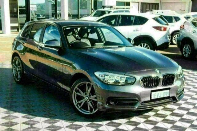 Used BMW 1 Series F20 LCI 118i Steptronic Sport Line Attadale, 2015 BMW 1 Series F20 LCI 118i Steptronic Sport Line Grey 8 Speed Sports Automatic Hatchback