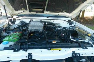 2008 Nissan Patrol GU 6 MY08 ST White 5 Speed Manual Wagon