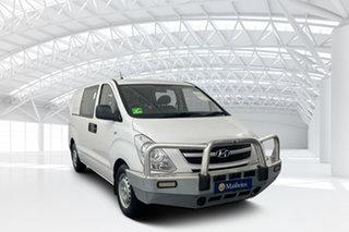 2012 Hyundai iLOAD TQ2-V MY12 Crew Cab White 5 Speed Automatic Van.