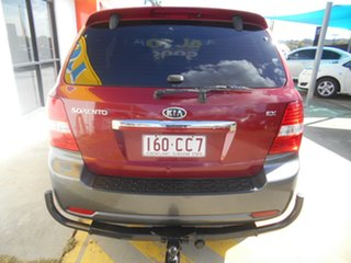 2007 Kia Sorento BL MY08 EX-L Red 5 Speed Sports Automatic Wagon