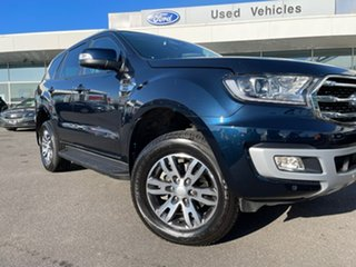2020 Ford Everest UA II 2020.75MY Trend Blue 10 Speed Sports Automatic SUV.