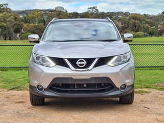 2017 Nissan Qashqai J11 TI Silver 1 Speed Constant Variable Wagon.