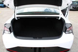 2021 Hyundai i30 CN7.V1 MY21 N Line D-CT Premium Polar White 7 Speed Sports Automatic Dual Clutch