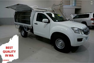 2016 Isuzu D-MAX MY15 SX 4x2 High Ride White 5 Speed Sports Automatic Cab Chassis.