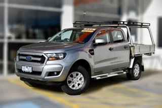2016 Ford Ranger PX MkII XLS Double Cab Silver 6 Speed Sports Automatic Utility.