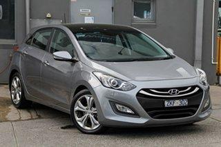 2013 Hyundai i30 GD Premium Grey 6 Speed Sports Automatic Hatchback.