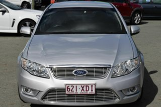 2010 Ford Falcon FG Upgrade G6E Turbo Silver 6 Speed Automatic Sedan.