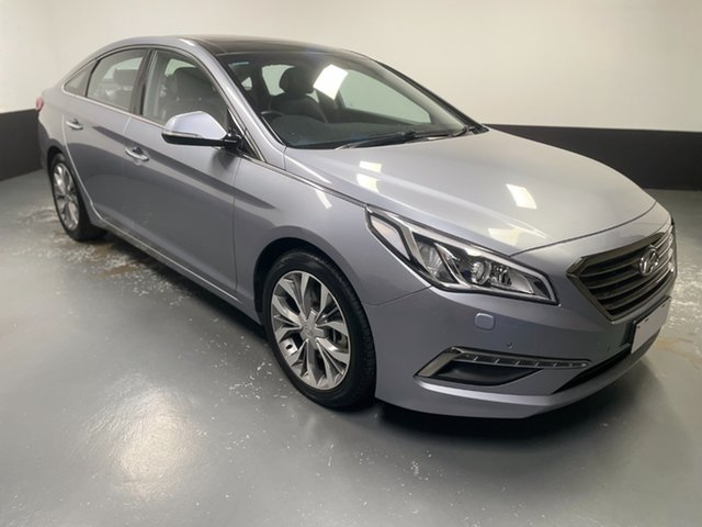 Used Hyundai Sonata LF Premium Cardiff, 2015 Hyundai Sonata LF Premium Grey 6 Speed Sports Automatic Sedan