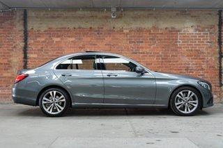 2020 Mercedes-Benz C-Class W205 801MY C200 9G-Tronic Selenite Grey 9 Speed Sports Automatic Sedan