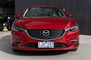 2017 Mazda 6 GL1021 Touring SKYACTIV-Drive Soul Red 6 Speed Sports Automatic Sedan.